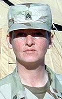 Army Sgt. Tatjana  Reed