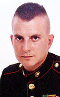 Marine Staff Sgt. David G. Ries