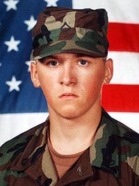 Army Spc. Gregory P. Sanders