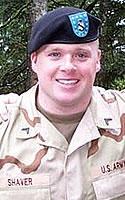 Army Sgt. Jeffrey R. Shaver